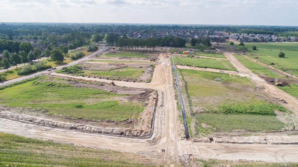Bouwrijp maken Westerbouwlanden Noord 2e fase